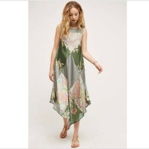 Anthropologie TINY Green Trouvaille Dress Size MP